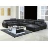 Buy cheap 301#; modern U shape genuine leather sofa set, home furniture,office furniture, from wholesalers