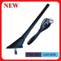 """Buy cheap ISO9001 Top Mounted AM FM Car Antenna Spring Mast 7"""" Black Plastic For Car from wholesalers"""