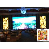China Indoor P3.91 Full Color Rental LED Video Display Tool Less Installation Light Weight Fanless on sale