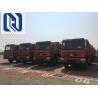 China HOVA 60 Ton 6x4 Mining Heavy Duty Dump Truck for Transport , Red wholesale