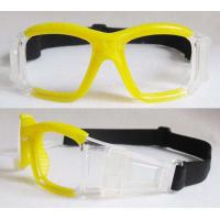 China Sports Eyewear For Basketball Glasses BP-6682 Yellow + Clear Frame wholesale