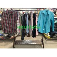 China Comfortable Mens Used Clothing Japanese Style Second Hand Mens Long Sleeve Shirts wholesale