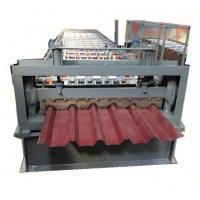 China most popular new design roofing ridge cap roll forming machine wholesale