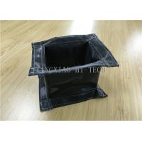 China Rectangular Fireproof Flanged Expansion Joint Fabric High Temperature Resistant wholesale