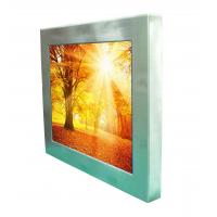 """12.1"""" 1500nits high bright outdoor robust stainless steel full IP66/IP67 waterproof  touch Panel PC computer"""