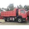 China Dump Tipper Truck Special Dump Truck25 ton 8 x 4 Unloading Heavy Duty Trucks , EURO II 371 Horsepower wholesale
