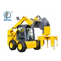 China Euro III Emission Road Maintenance Machinery XT740 Mini Skid Steer Loader wholesale