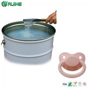 China BPA Free Silicone Mold Making Rubber / Custom Baby Feeding Bottle Nipple wholesale