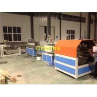 China 63mm Braided Hose PVC Pipe Extrusion Line , Plastic Pipe Manufacturing Plant wholesale