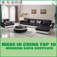 China Modern Office Chair wood Living Room Furniture genuine  leather Sofa Bed on sale