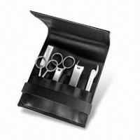 China Stainless Steel Manicure Set, Includes Accessories as per Customer's Request, OEM Orders are Welcome wholesale