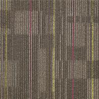 China Commercial 100%  PP Indoor Outdoor Carpet Tiles Peel And Stick Eco - Bitumen Backing wholesale