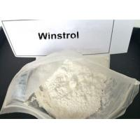 China Legal Winstrol Stanozolol Weight Loss Steroids / Fat Burner Powder For Men 10418-03-8 wholesale