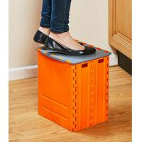 Buy cheap Plastic Step Folding Table And Stools Non Slip Storage Box Portable from wholesalers
