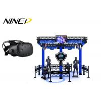 China 4 Players Standing Virtual Reality Game Simulator For Park 12 Months Warranty wholesale