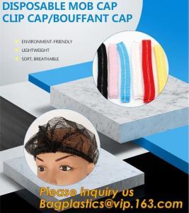 China Disposable MON CAP, CLIP CAP,BOUFFANT CAP,medical disposable surgical head caps,nonwoven mob cap,hair net NURSE CAP, MED on sale