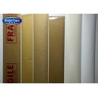 China Fiber Glass Reinforced Kraft Packing Tape Logo Print With Water Active on sale
