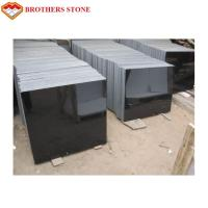 China High Hardness Flamed Granite Stone Mongolia Black Granite For Slab Floor Tile on sale