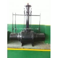 Carbon Steel Pipeline Valve , Anti-corrosion API607 Full Weled Ball Valve