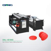 Buy cheap Plate Non Woven Slitting Machine / Automatic Stretch Film Slitting Rewinding from wholesalers