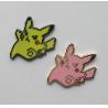 China ハンドメイド子供のギフトのための美しいPokemon Pikachuの堅いエナメルピンのバッジ wholesale