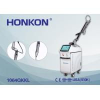 China Skin Rejuvenation / Pigment Therapy Q Switched Nd YAG Laser 6ns Pulse Width wholesale
