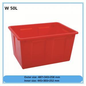 China W50L Plastic packaging box high quality plastic tool box, hard plastic box on sale