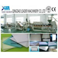 China high transparency PMMA light guide plate/panel extrusion machine wholesale