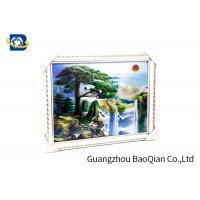 China Beautiful Landscape 3D Lenticular Images , Stereograph Lenticular 3D Printing wholesale