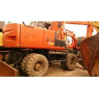 China Used HITACHI Wheel Excavator Used HITACHI ZX210W Excavator on sale