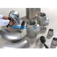 Buy cheap UNS S2507 Pipe Fittings , Elbows For Connection Pipes , Duplex Steel Fitting from wholesalers