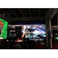 China P6 High Brightness LED Display 5000nit Indoor Large LED Screen Rental with Hanging Bar wholesale