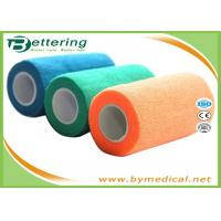 China 4 Self Adhesive Coflex Bandage Wrap Easy Hand Tearing Non Woven Material on sale