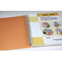 China Colorful Stone Paper Custom Spiral Notebook Printing 6 X 10 For Students Diary wholesale