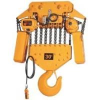 China YUANTAI Factory Price electric chain hoist in bridge cranes with plain trolley wholesale