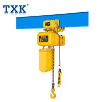 China ER2 Duel Speed 2 Ton Chain Hoist Trolley 50Hz Power G100 Japan Load Chain on sale