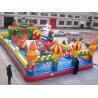 China Castelos infláveis engraçados dos desenhos animados dos jogos dos esportes do brinquedo das crianças com o PVC à prova de fogo wholesale