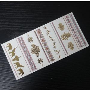 wholesale gold tattoo sticker jewelry chain ring sticker