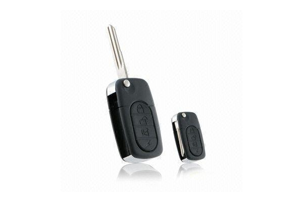 Quality Metallic-chromed Euro-style Remote Controller, Transmitter for Car Alarm for sale