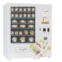 China Chilled Robotic Vending Machine For Nutrition Fruit / Vegetable / Cupcake / Sandwich on sale
