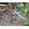 China 100 Pieces Anti Grass Turf Nails Mulching Cloth Gardening Plastic Holder Tools,500PCS/CTN OR 1000PCS/CTN,60CTNS/PALLET,2 wholesale