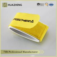 China Yellow Boards Bind Hook And Loop Strap With Strong Adhesive Strength on sale