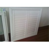 China Professional Glass Jalousie Windows , Powder Coating White Window Shutters wholesale