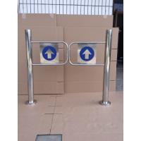 China Indoor 970Mm Swing Gate Barrier Mechanical For Shopping Mall Center wholesale