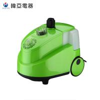 China Green Upright Garment Steamer , Ten Gear Switch Industrial Fabric Steamer wholesale