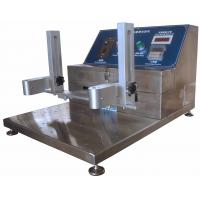 China High Erosion Resistance Abrasion Testing Machine with 3 Testing Grips wholesale