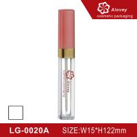 China Pink color lipgloss tube lipgloss container on sale