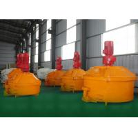 China Stainless Steel Materials Pan Type Concrete Mixer Polyphenylene Granule Cement Slurry wholesale
