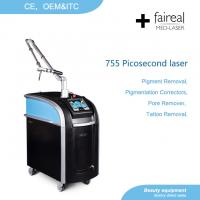 China FAIREAL MED Picosecond Laser Q switch Nd Yag laser Tattoo Removal machine MANUFACTURER wholesale