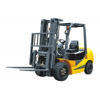 China Pneumatic Tyres Four Wheel Forklift With Low Emission 6000mm Lifting Height wholesale